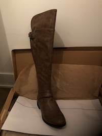 Brand new leather boots size 8 Montréal, H3H