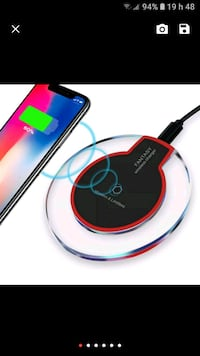 WIRELESS CELLPHONE CHARGING DEVICE