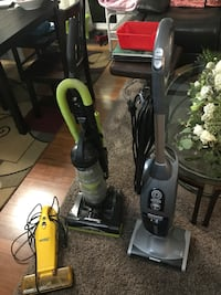 black and green upright vacuum cleaner Alexandria, 22310