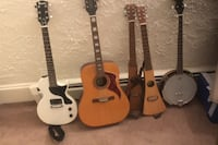 Gibson Electric Guitar and 4 others Watertown, 02472