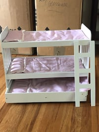 American Doll bed with Trundle! All of the dolls can get a good night rest!  Alexandria, 22310