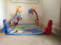 Fisher-Price Discover 'n Grow Open Play Musical Gym Silver Spring, 20903