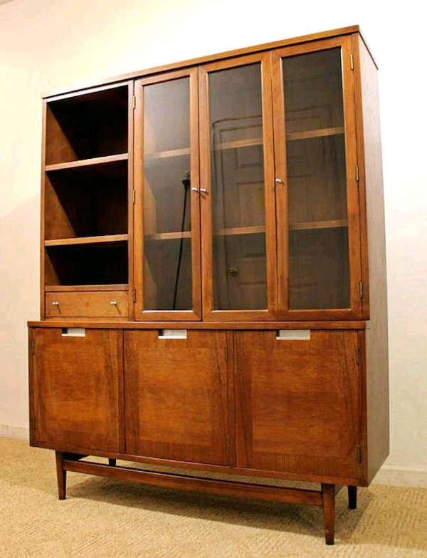Used Mid Century Modern Danish Modern China Cabinet For Sale In