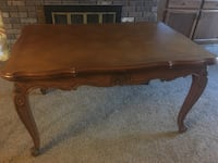 Antique French Louis xv draw leaf dining table