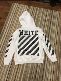 Off White C/O Virgil Abloh FW13  White Carvaggio Hoodie Size Medium Port Coquitlam, V3C