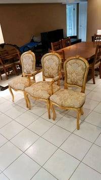 Set of 3 accent chairs