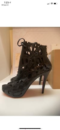 Christian Louboutin Lady Letter Boots Middleburg, 20117