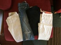 Lot of size 0/1 name brand pants - all like new condition! Hazleton