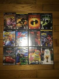 GAMECUBE GAMES ALL WORK PERFECTLY 45$ EACH NEGOTIABLE  Montréal, H8Z 1B2