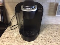 black and gray Keurig coffeemaker Maple Ridge