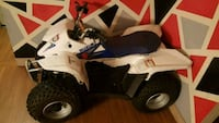 white and blue Polaris ATV Springfield, 01119