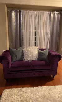 Living Room Set - Purple - 2 Loveseats and Chair Dumfries, 22172