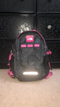 black and pink Under Armour backpack Harrah, 73045