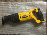 yellow and black DeWalt reciprocating saw Beltsville, 20705