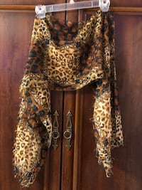women's brown and black leopard print dress Toronto