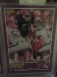 Darryl Talley collectible card