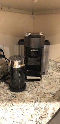 NESPRESSO COFFEE MACHINE AND FROTHER RETAIL $350  Catonsville, 21228