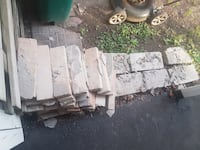 Bricks and blocks from our chimney