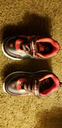 pair of red-and-black Spider-Man shoes Lafayette, 47909