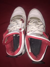 pair of white Air Jordan 4's Rockville, 20853