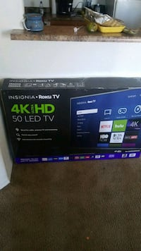 "Brand new still in box 50"" 4k roku flat screen  Phoenix, 85035"
