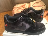 Air Force 1 low velvet rose