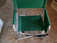 green and gray folding chair Holly Springs, 27540