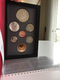 1990 Royal Canada Mint Proof Coin Collection - w/ 50% $1 Silver Calgary, T2R 0S8