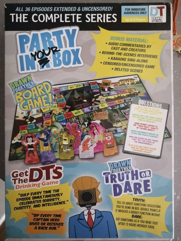 Drawn Together Complete Series Party In Your Box Edition DVD 1