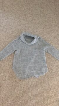 Soft Gray Sweater Bowie, 20715