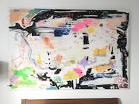Large art canvas 6' x 4'