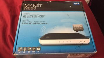 My net n600 hd dual band router new in box