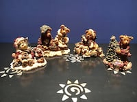 Lot of Christmas Boyd's Bears Figurines: # [TL_HIDDEN] 003, #2240