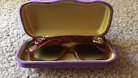 brown framed Ray-Ban sunglasses with case Norcross, 30093