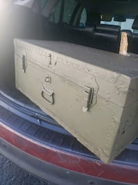 old  Military trunk