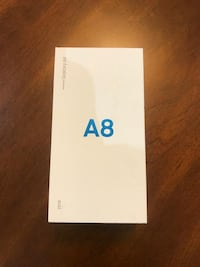 Samsung A8 galaxy boxed