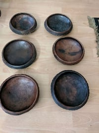 Six African Rice Bowl set. Gaithersburg