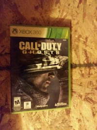 Xbox 360 Call of Duty Ghosts game case Prineville, 97754