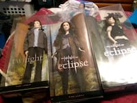 lot 3 mint in box ,twilight eclipse, DVDs tshirt  Leesburg, 20176