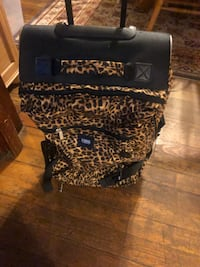 black and brown leopard print bag Pawtucket, 02860