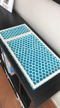 Teal and white trays Chapel Hill, 27517