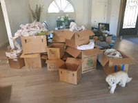 moving boxes Scottsdale, 85260