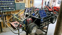NC chassis  mini cup race ready - new engine  Remington