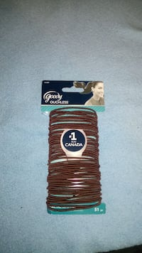 brown goody Ouchless hair ties Toronto