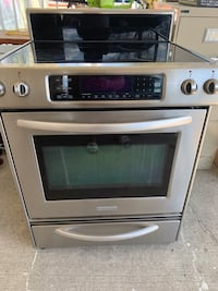 Kitchen aid electric stove