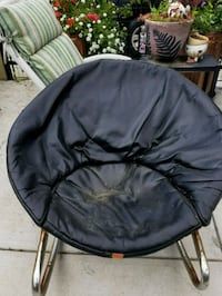 black and gray moon chair Los Angeles, 90063