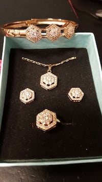 Brand new jewelry set, bangle included for FREE! Annandale, 22003