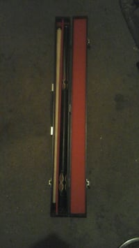 red and black cue stick Spokane, 99202