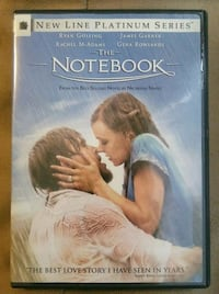 The Notebook DVD ( Movies Videos Entertainment ) Rancho Cucamonga, 91739