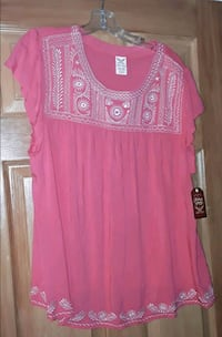 NEW Faded Glory XXL Coral Top Martinsburg, WV, USA, 25401